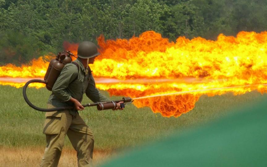 1. Flammenwerfer