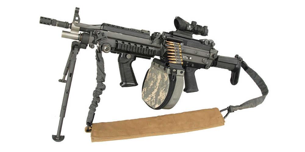 2. Leichtes Maschinengewehr (M249)