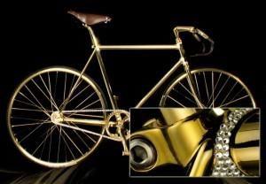 1. Aurumania Gold Bike