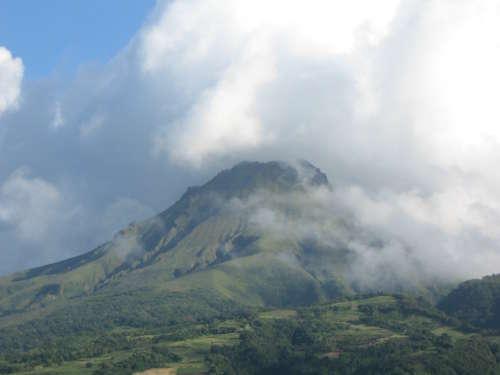 6. Mont Pelée - Martinique