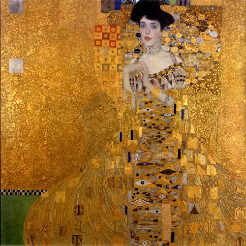 5. Adele Bloch-Bauer I - Gustav Klimt