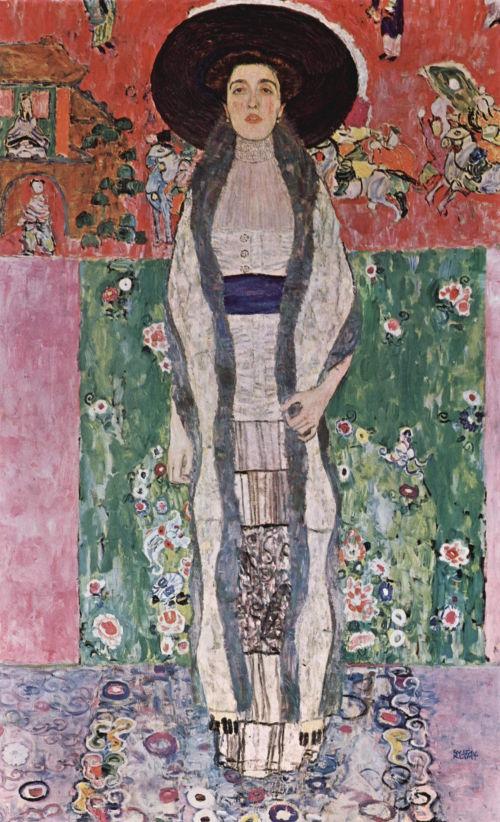 10. Adele Bloch-Bauer II - Gustav Klimt