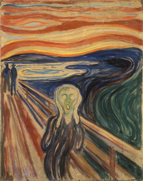 6. Der Schrei - Edvard Munch