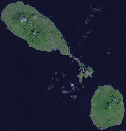 8. St. Kitts und Nevis